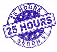 25 hours